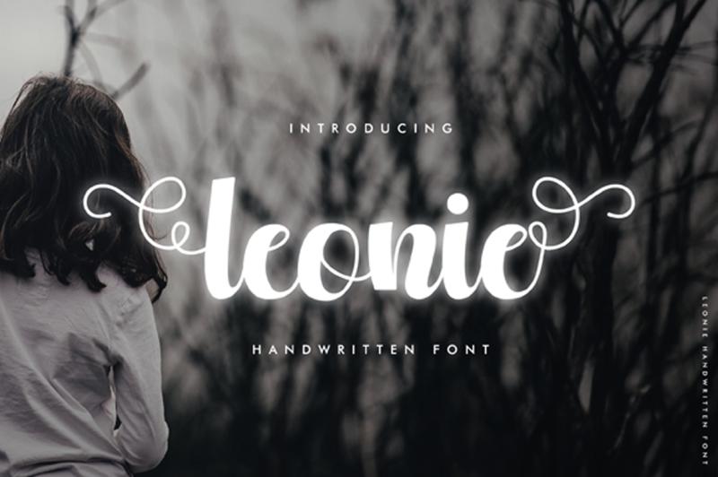 leonie-script-font