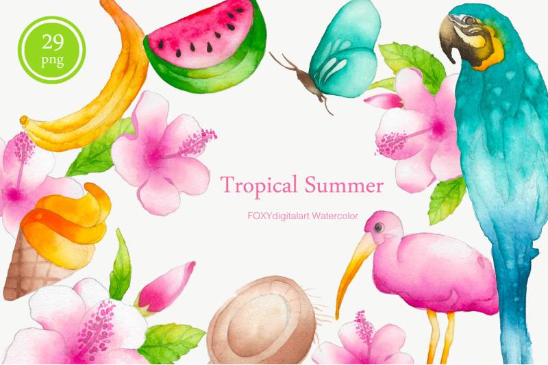 watercolor-tropical-summer-holiday-travel