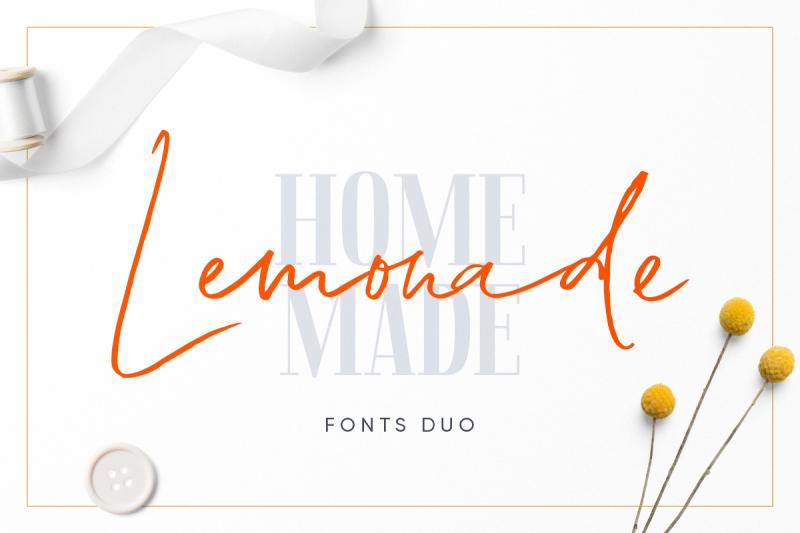 lemonade-fonts-duo