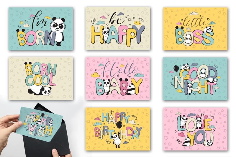 panda-bears-cute-cards