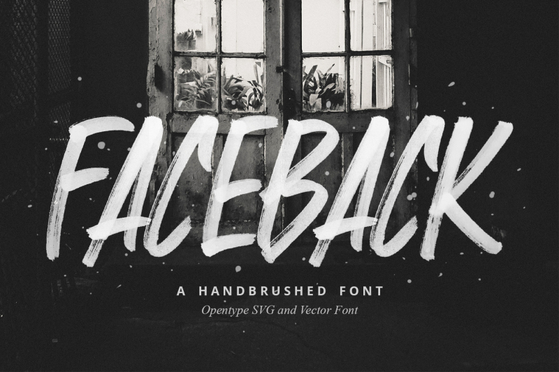 faceback-svg-brush-font