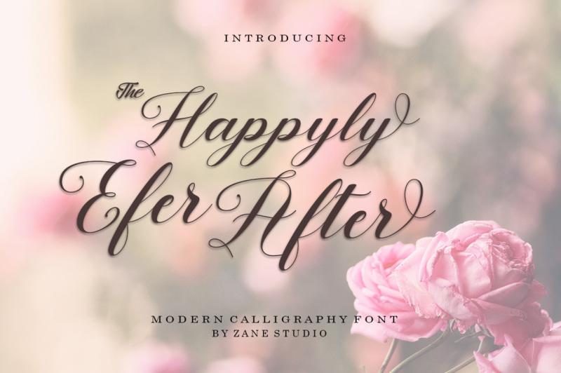 happyly-efer-after-script