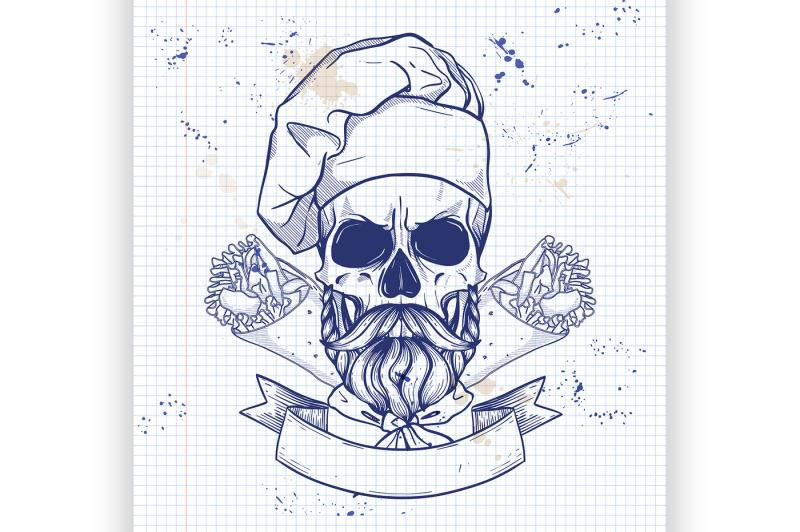 hand-drawn-sketch-color-skull