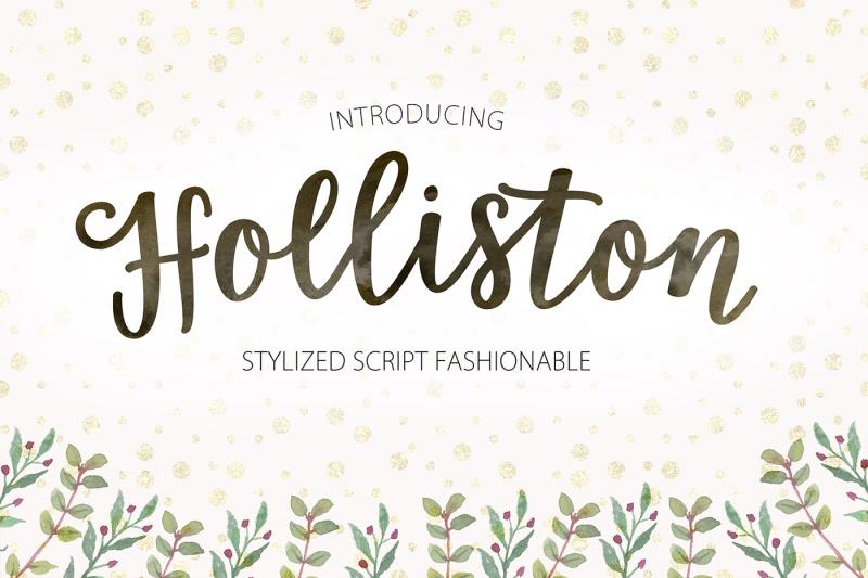 holliston-script