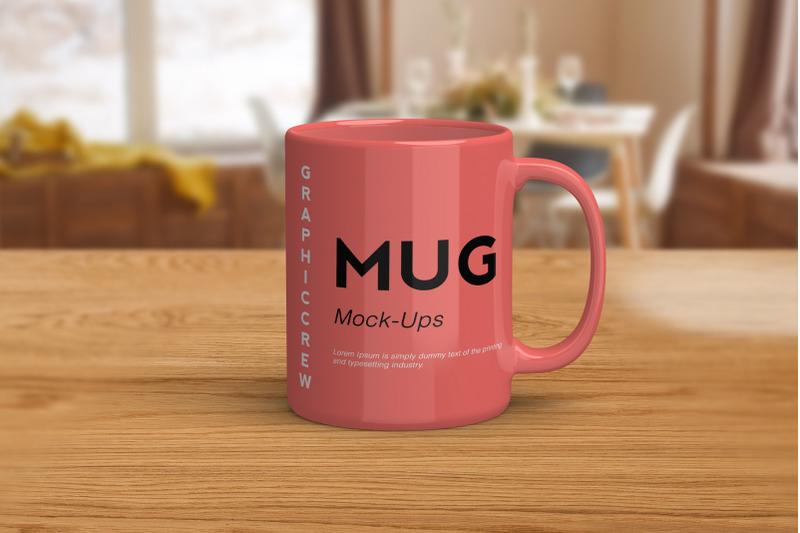 Free Mug Mock-ups (PSD Mockups)