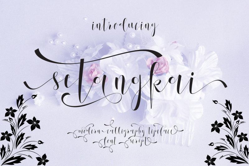 setangkai-script