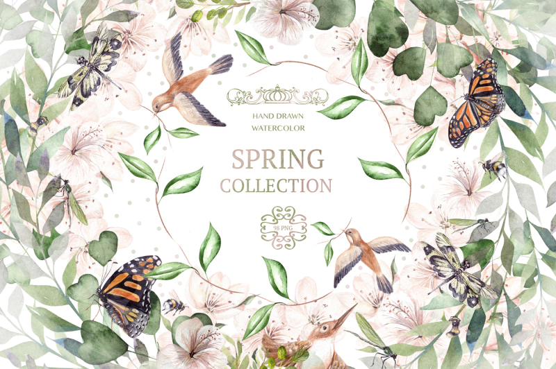 watercolor-spring-collection
