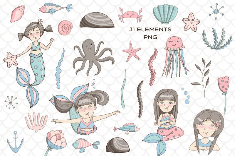 little-mermaids