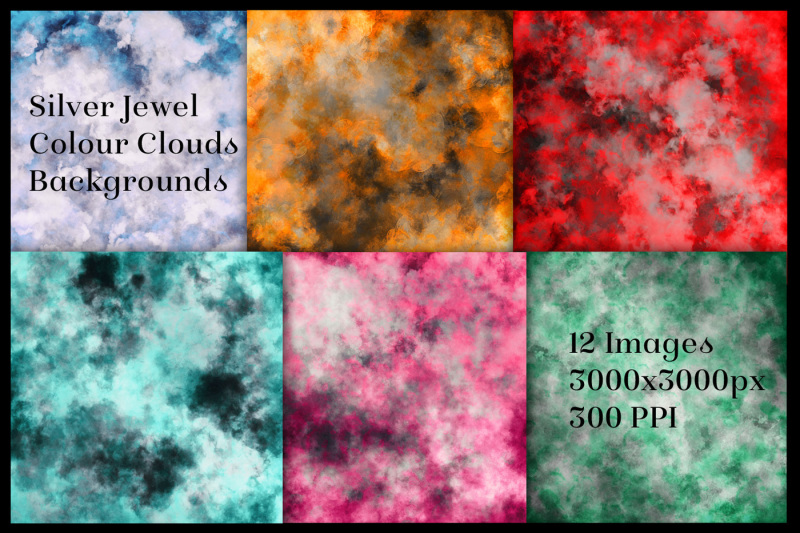 silver-and-jewel-colour-clouds-backgrounds-12-image-set