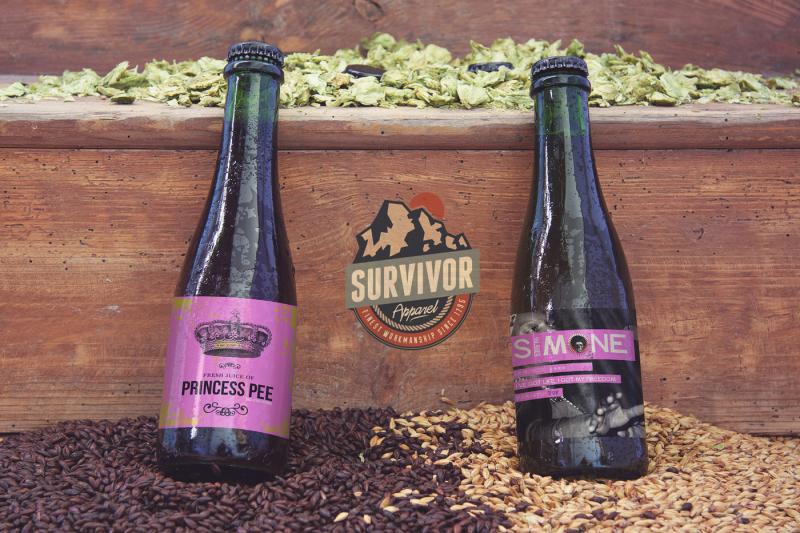 Free Stair Malt Black & Tan Beer (PSD Mockups)