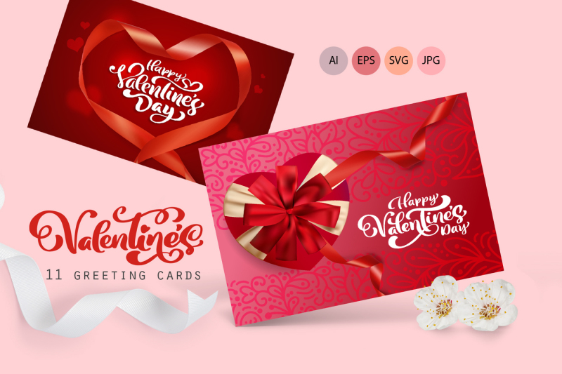 valentine-vector-greeting-cards