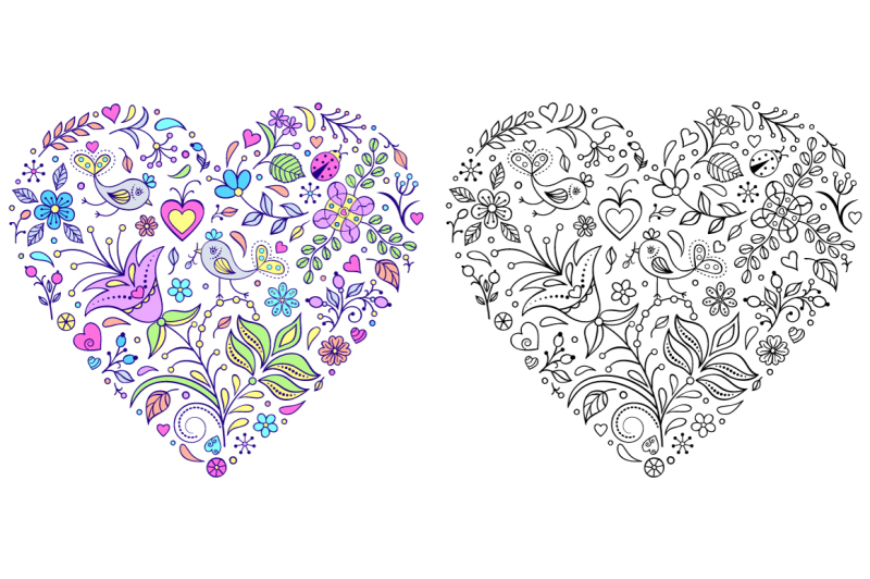 floral-valentine-039-s-hearts