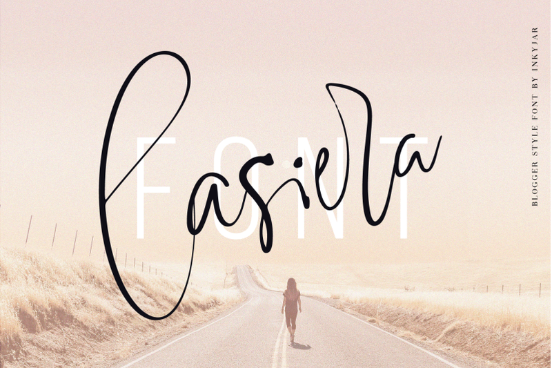 lasiera-script-font-blog-style