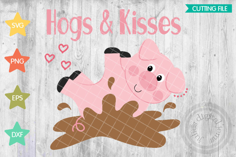 hogs-and-kisses-svg-valentines-day-svg-heart-svg-pig-svg