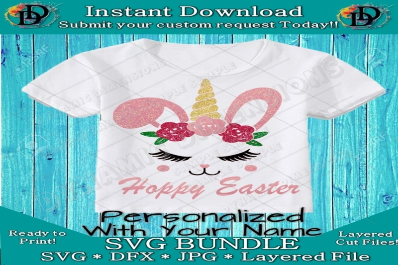unicorn-easter-bunny-svg-hoppy-easter-bunny-svg-design-easter-rabbit
