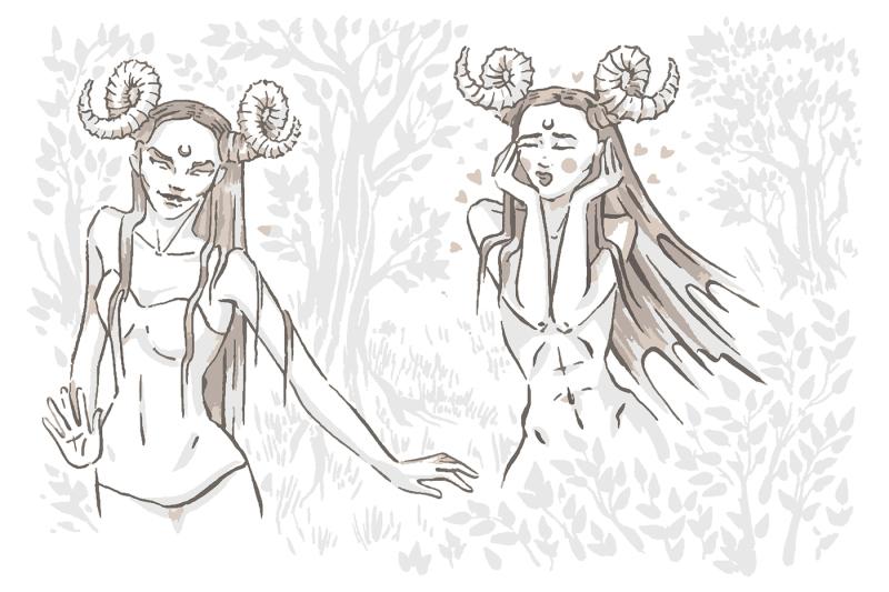 devil-girl-character-hand-drawn-illustration