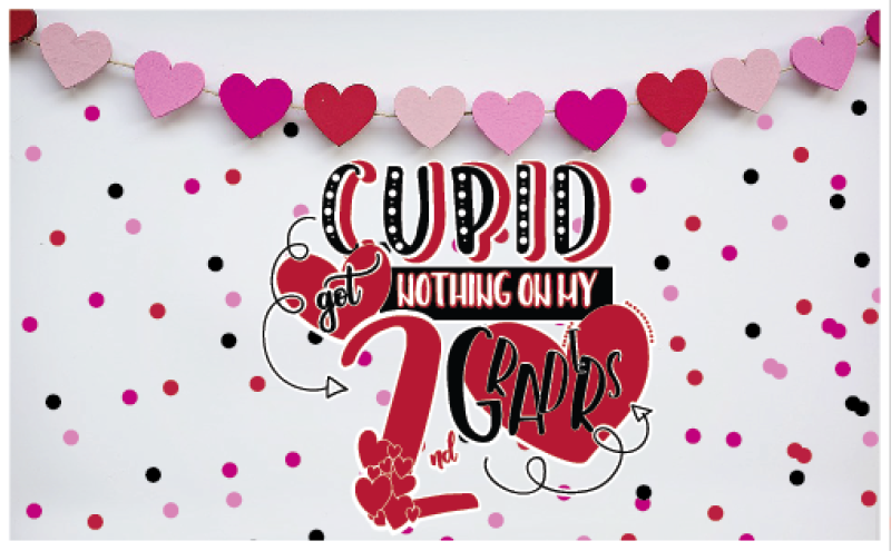 Valentine Cut File Teacher Svg Cupid File By The Creative Lamb