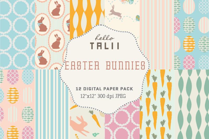 easter-bunnies-digital-paper