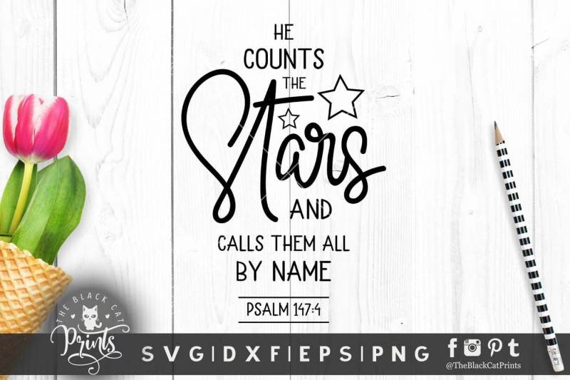 he-counts-the-stars-svg-dxf-eps-png-jpg