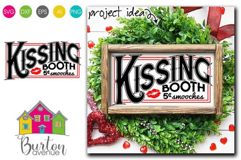 kissing-both-valentine-svg-file