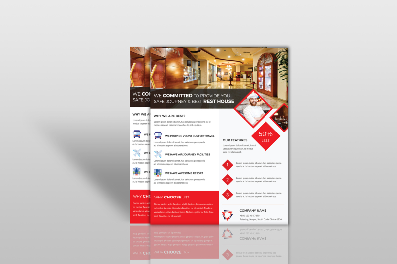 hotel-and-restaurant-flyer