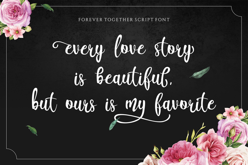 forever-together-romantic-font-duo