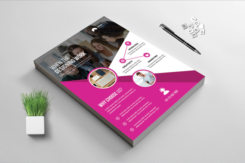 corporat-business-flyer