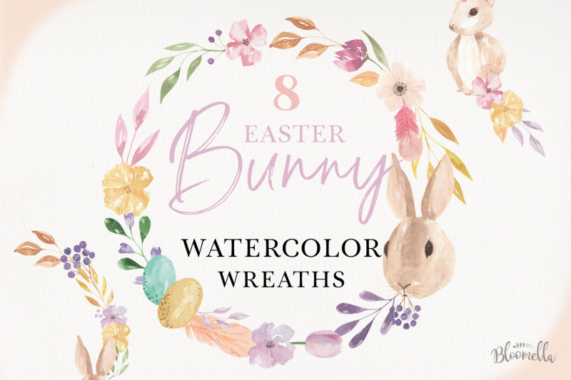 easter-egg-bunny-wreath-flowers-floral-kit-rabbit-rabbit-kit