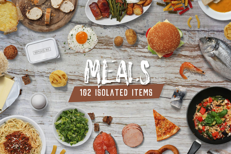 meals-isolated-food-items
