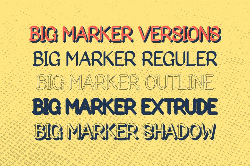 big-marker