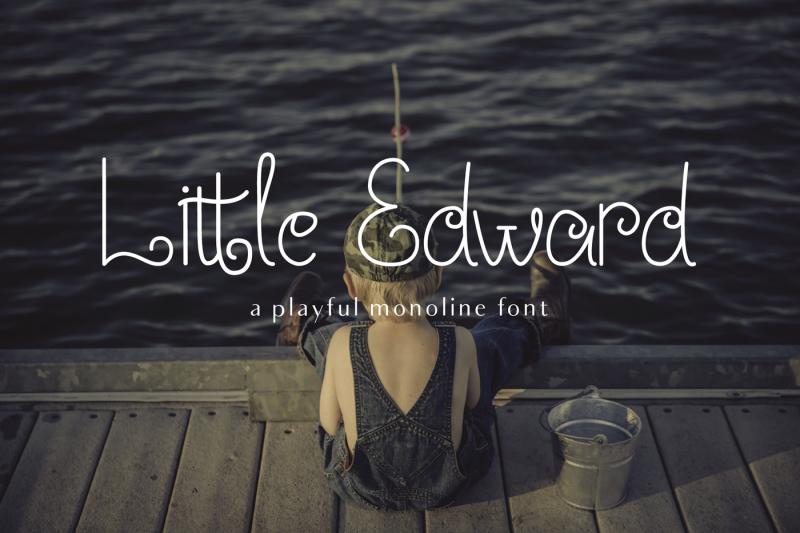 little-edward-playful-font