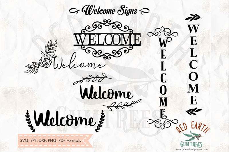 welcome-sign-decal-bundle-welcome-home-in-svg-dxf-png-eps-pdf