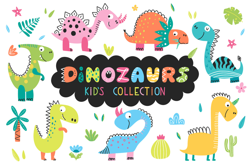 dinosaurus-kids-collection