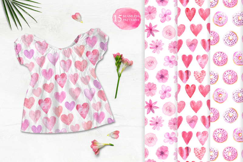 15-watercolor-love-seamless-patterns