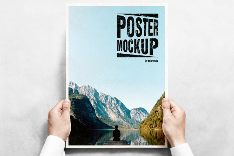 Free Poster Mockup (PSD Mockups)