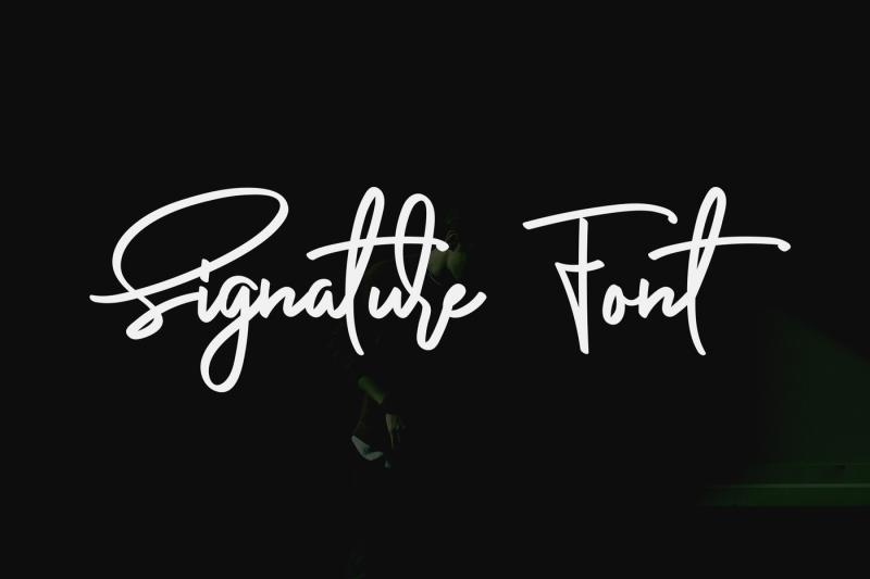 anderfont-a-signature-font