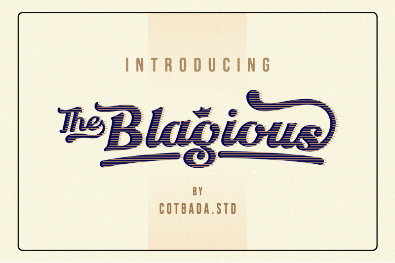 the-blagious-bold-script