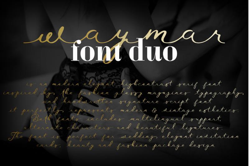 waymar-font-duo