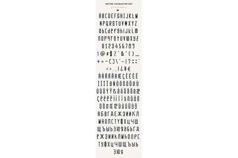 marisole-condensed-font