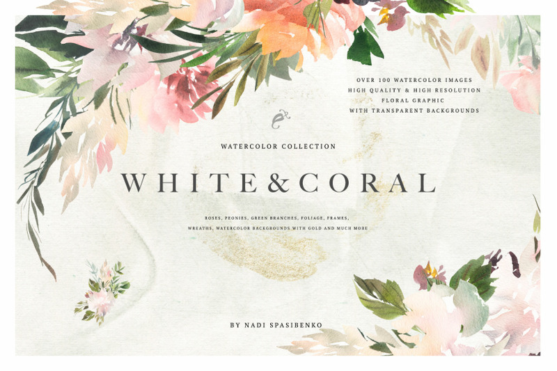 watercolor-white-amp-coral-flowers