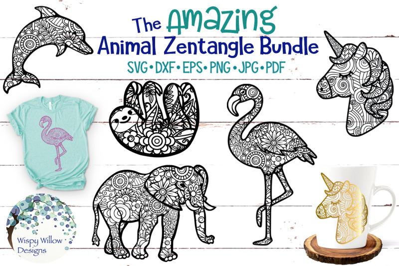 the-amazing-animal-zentangle-svg-bundle