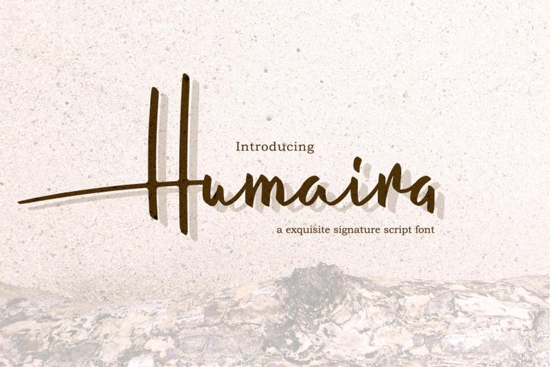 humaira-script