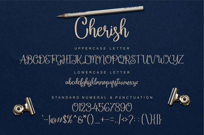 cherish-modern-script-font