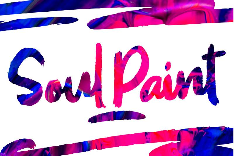 soul-paint-brush-font
