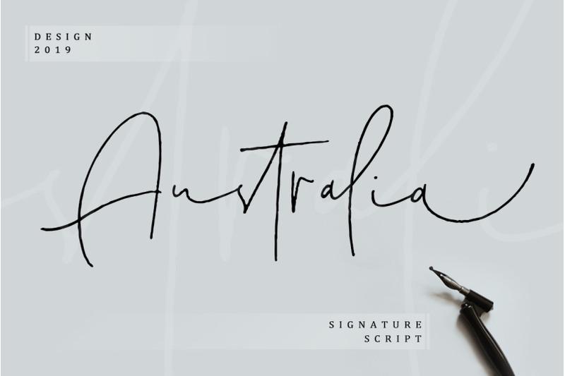 australia-signature-script