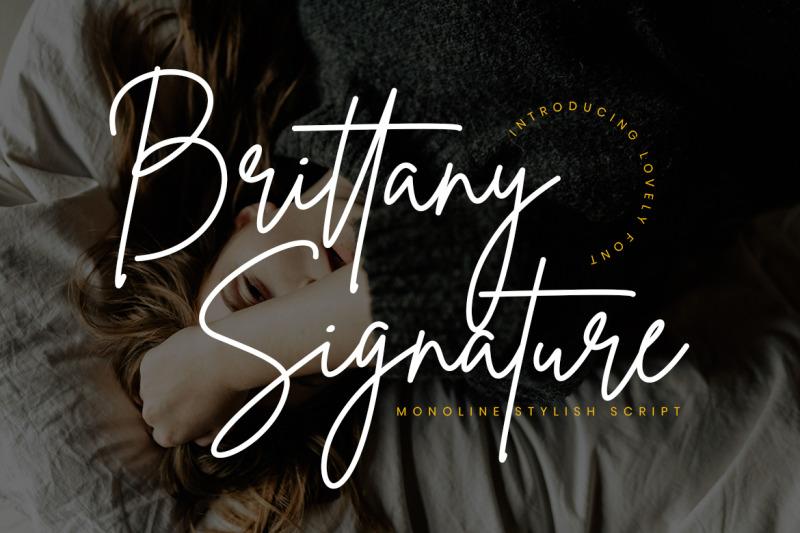 brittany-signature-script