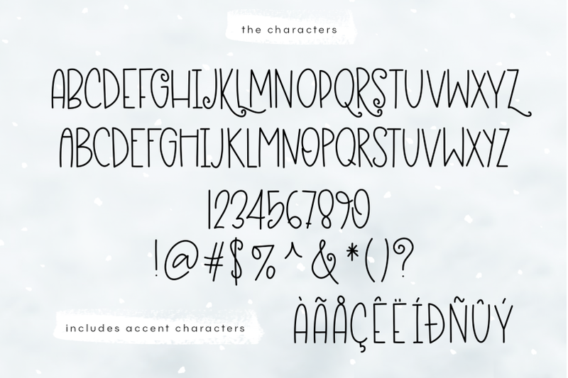 Eskimo Igloo A Fun Quirky Handwritten Font By Ka Designs