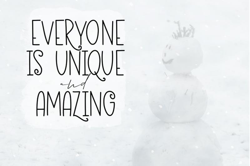 eskimo-igloo-a-fun-amp-quirky-handwritten-font