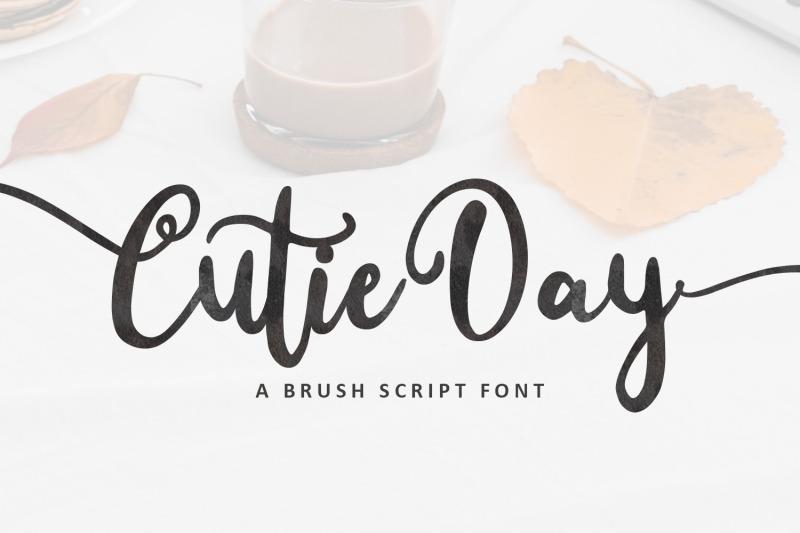 cutie-day-cute-script-font