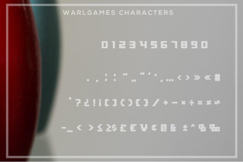 warlgames-font